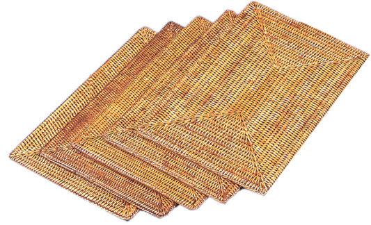 rattan placemats1