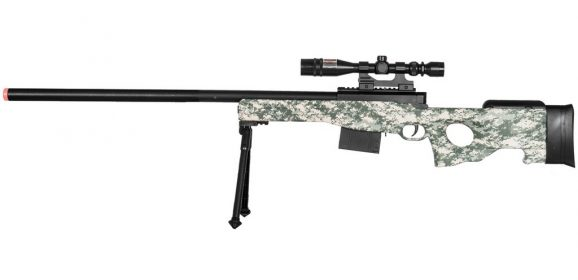 Want to make the best shot? Here is the best airsoft sniper rifle for you